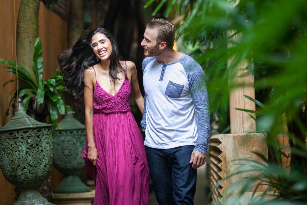 Honeymoon photography of Dustin and Larisse in Kata beach Phuket Thailand.