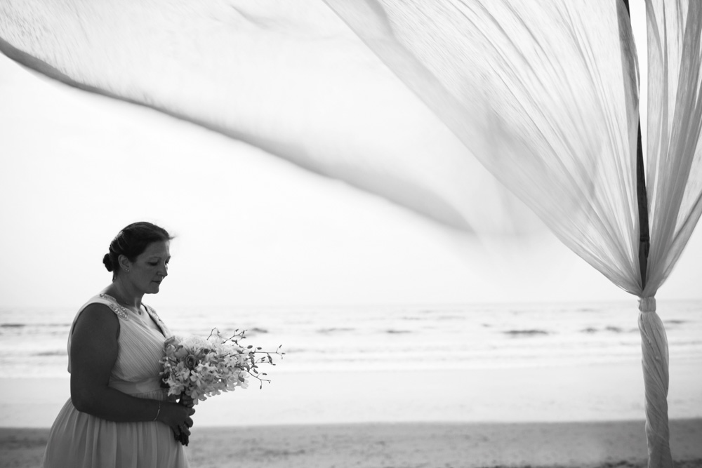 Matthew and Julia renew and reaffirm there wedding vows and commitment to one another at JW Khao Lak beach resort.