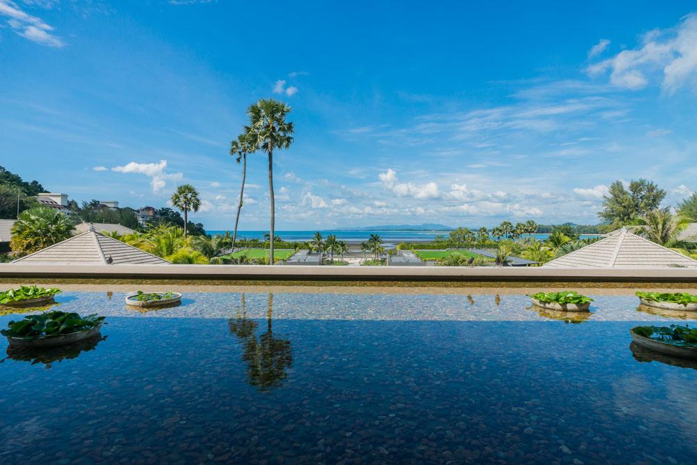 at Phuket Marriott Resort and Spa, Nai Yang Beach.