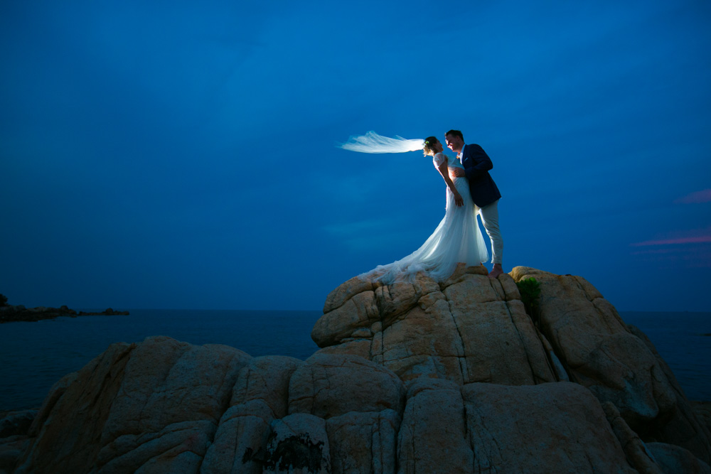 Julie and Ian wedding photo shoot in Samui Thailand