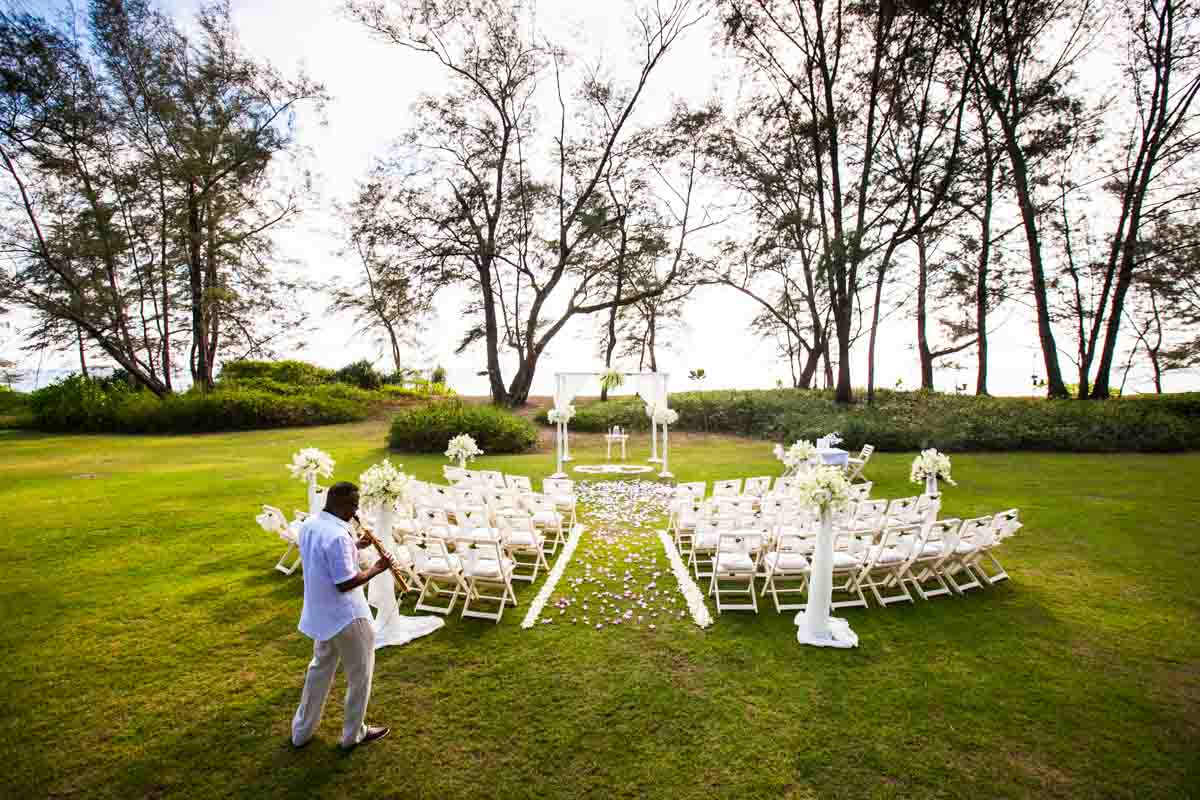 Zoe and Bryan beach wedding in Phuket Thailand
