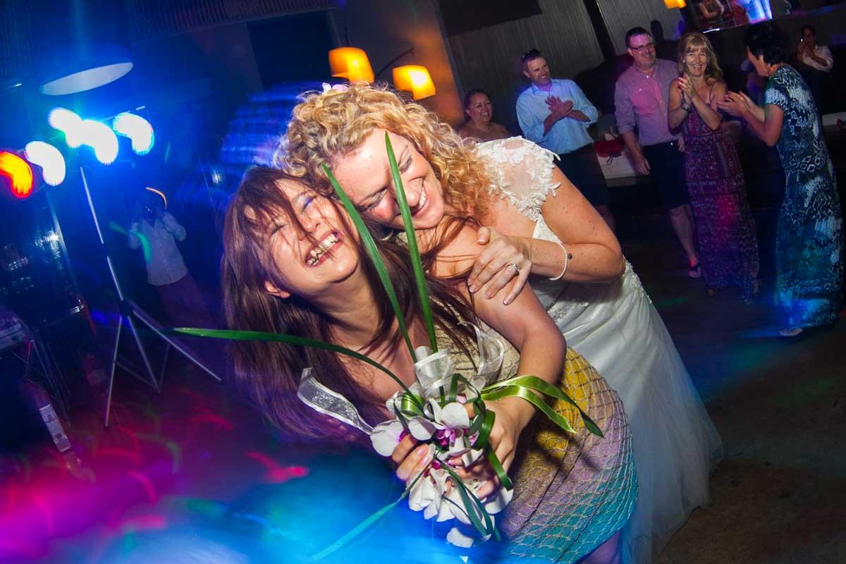 Zoe and Bryan wedding in Phuket Thailand .