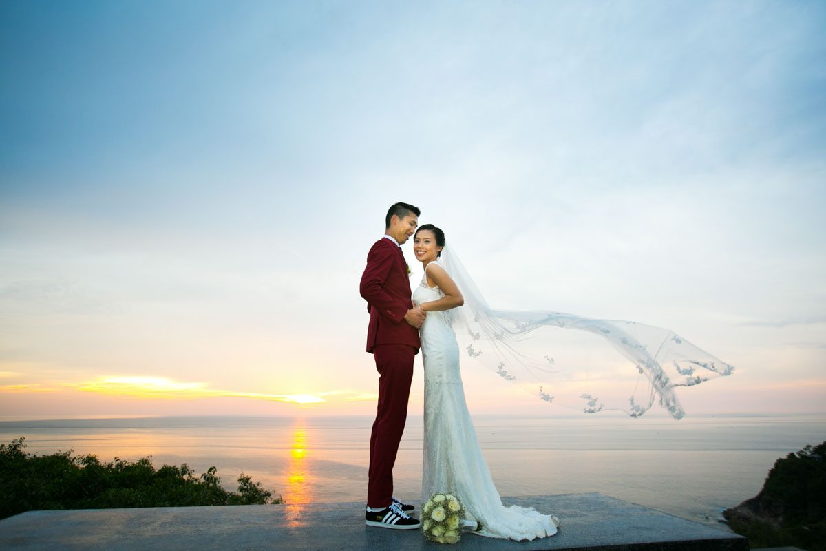 Jennifer and Terrence wedding photography session in Phuket Thailand
