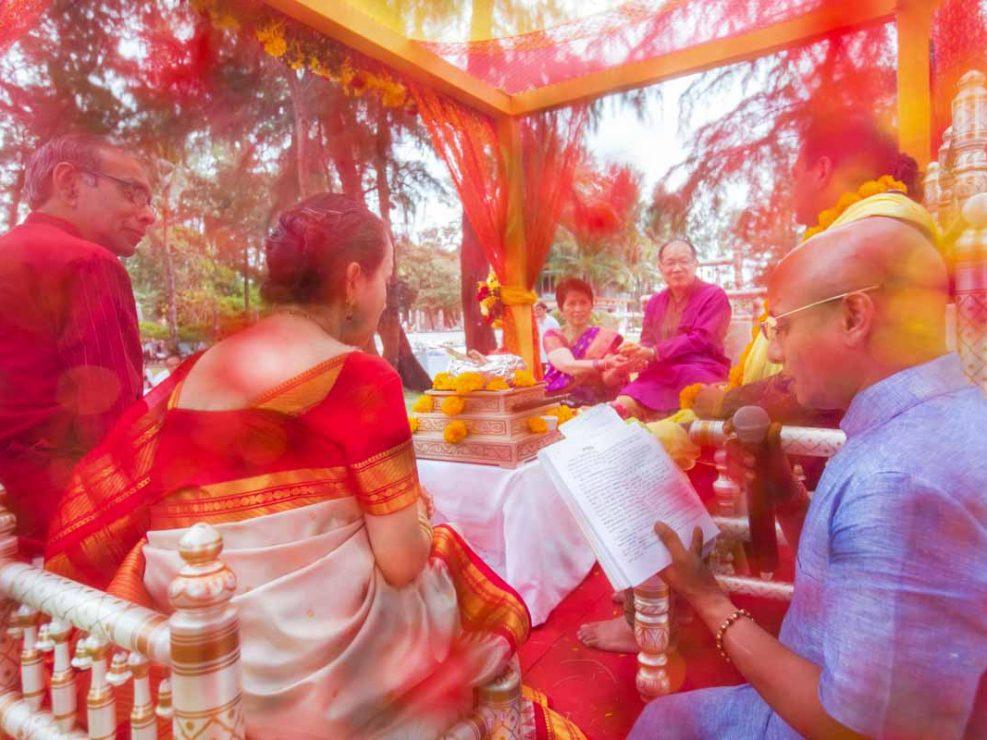 Jovia & Shub destination Indian wedding in Thailand