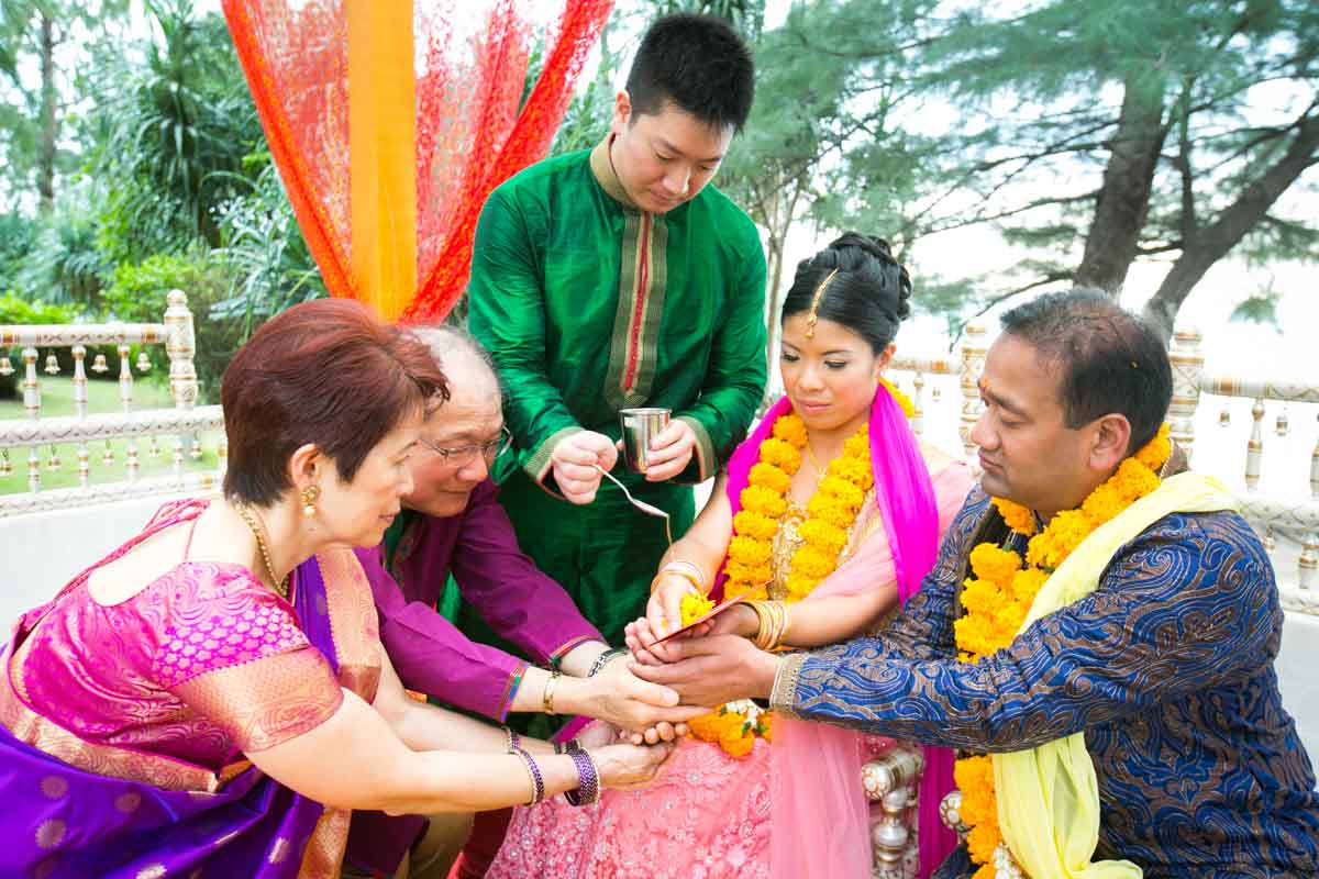 Jovia & Shub destination Indian wedding in Thailand