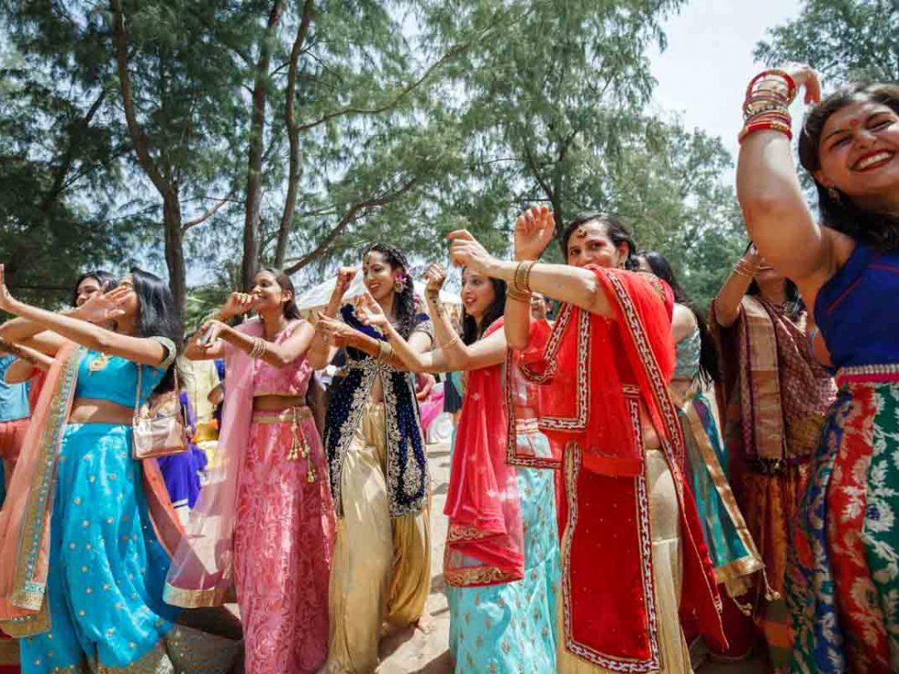 Mehndi for Jessica and Kris Indian wedding in Phuket Thailand