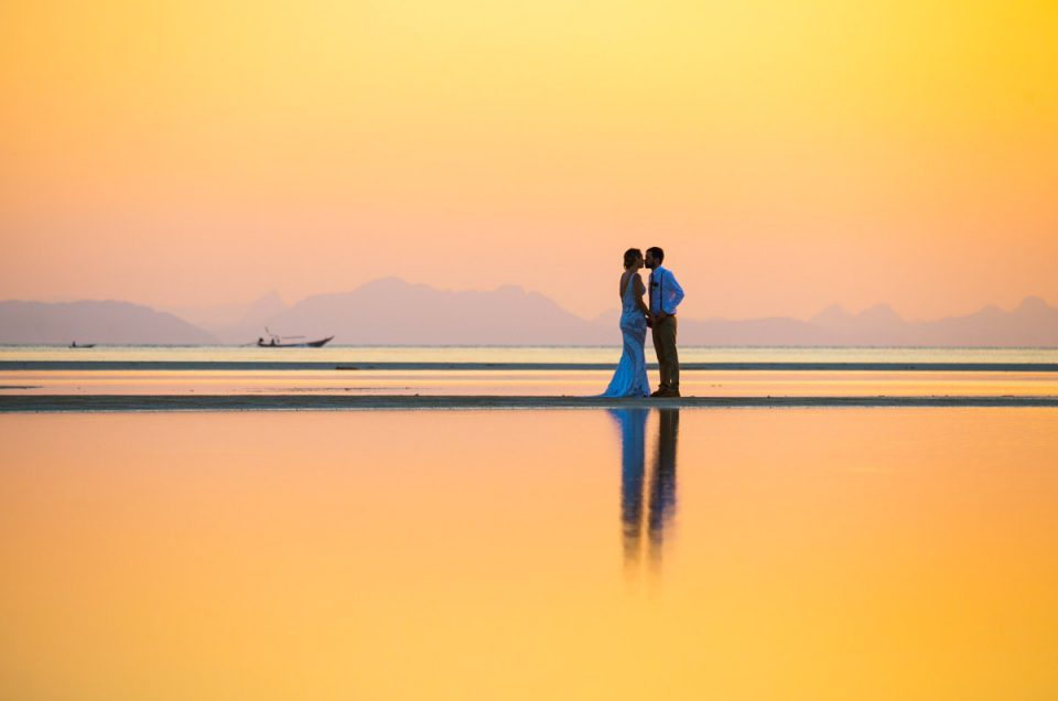 Kendell and Eoin beach wedding in Koh Samui Thailand Photography