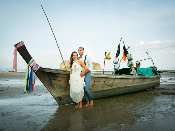 France with Helene wedding in Koh Yao Island ,Thailand