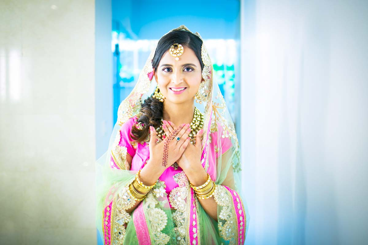 Indian wedding photography for Deepa 's weddig in Phuket Thailand