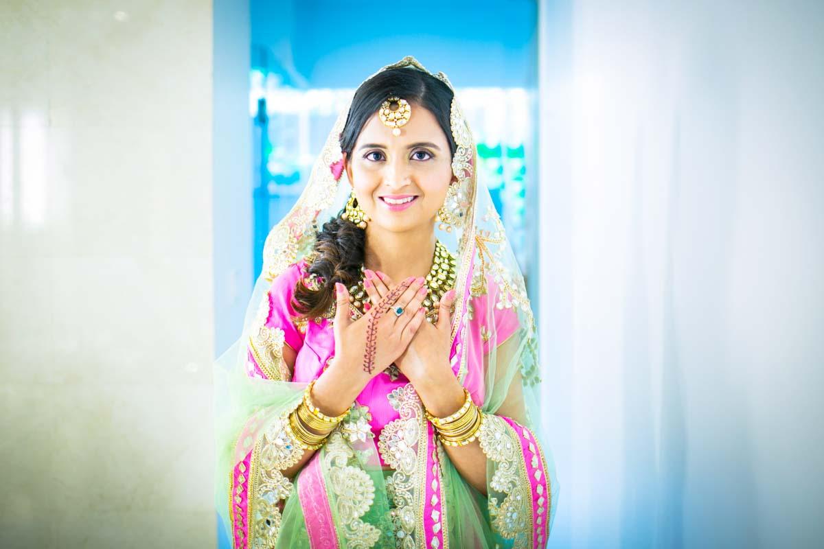 Indian wedding photography for Deepa 's weddig in Phuket Thailand