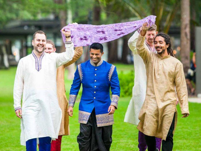 Thailand Indian wedding photography for Deepa 's weddig in Phuket Thailand