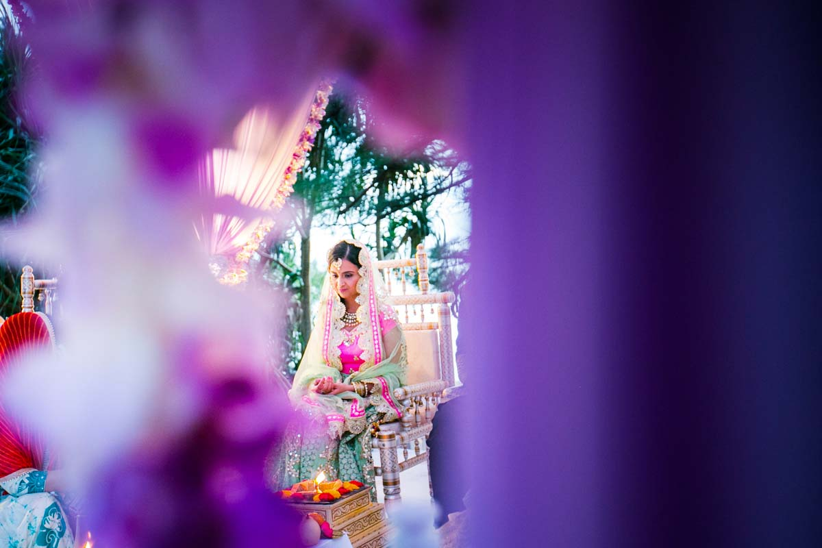 Thailand Indian wedding photography for Deepa 's weddig in Phuket Thailand