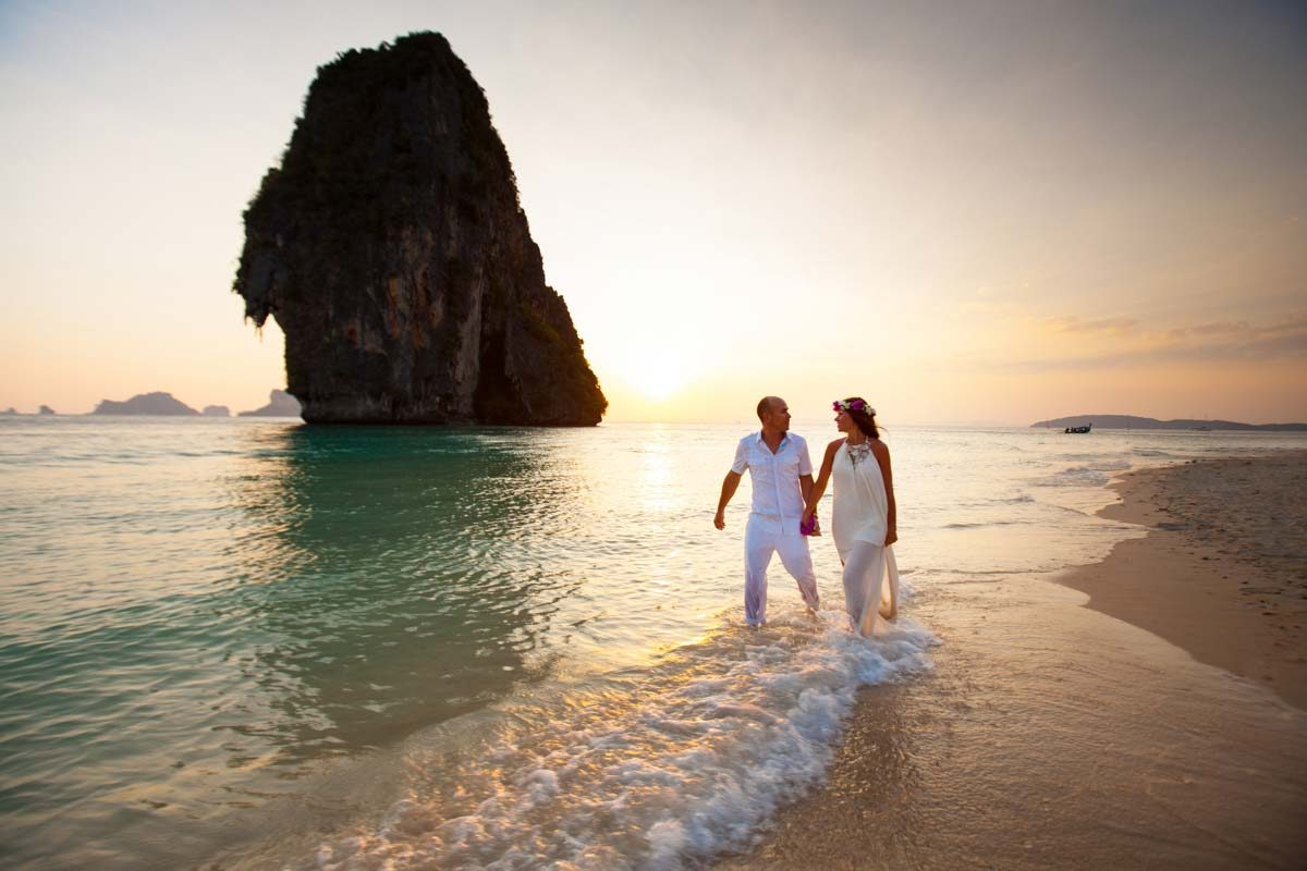 Marryan and Hanry honeymoon photo session in Rayavadee Krabi