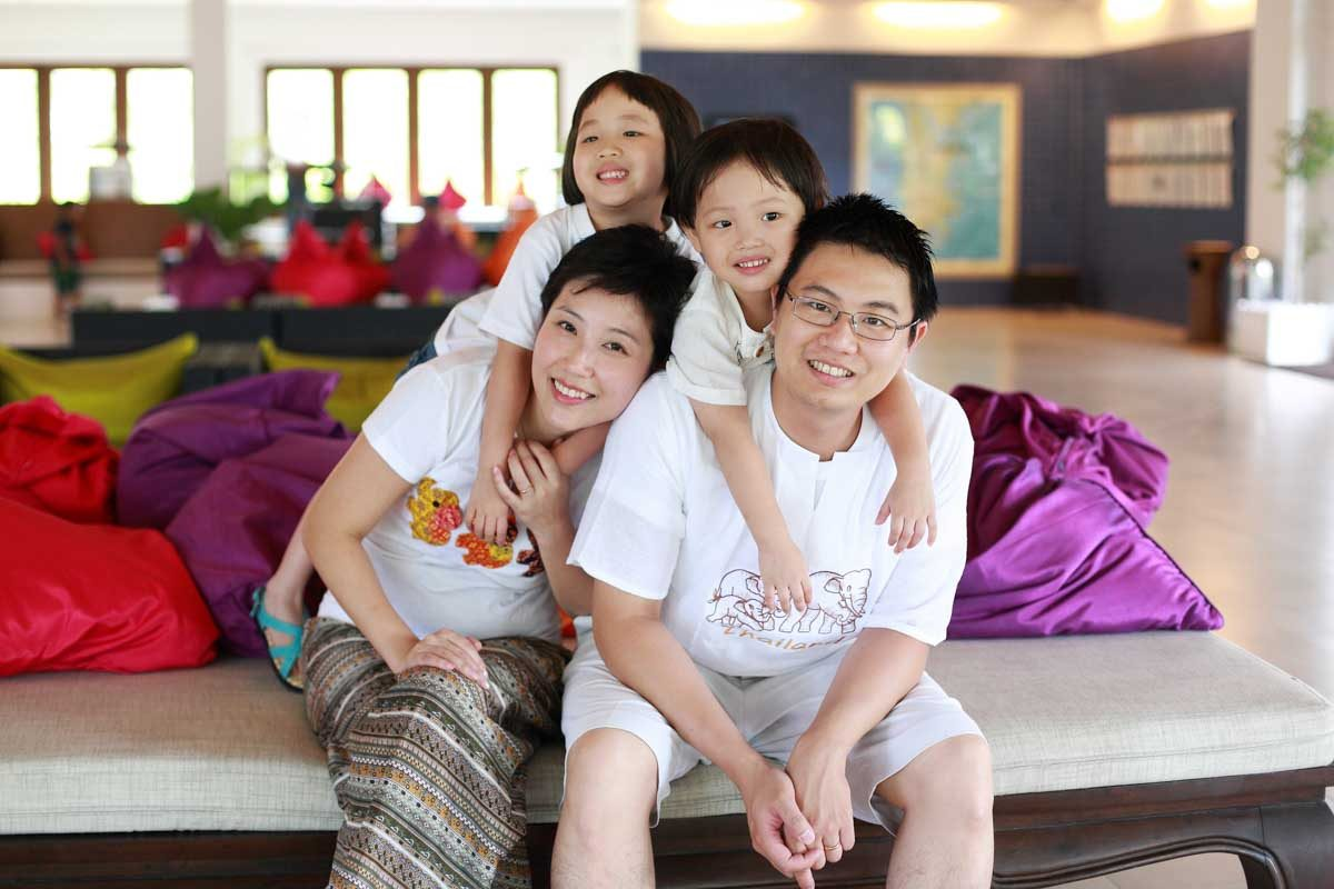Photography of Iris family during there family holiday in Phuket Thailand