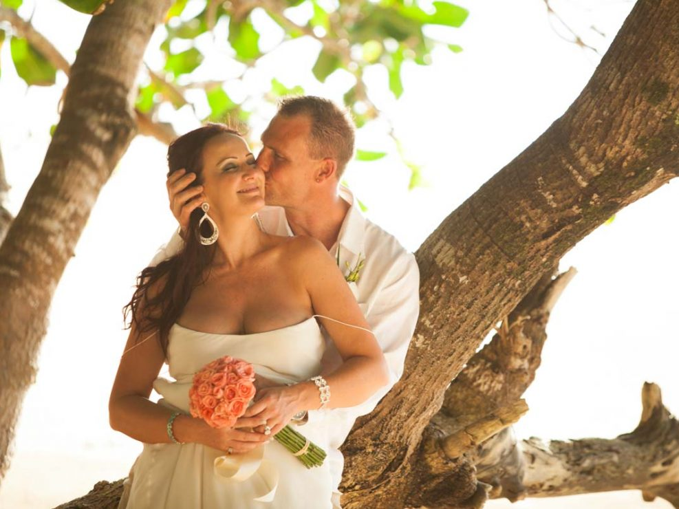 Photography photo shoot for Chanel with Michael wedding in Khao Lak beach Thailand.