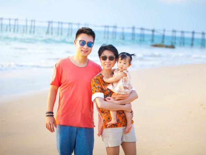 Natalia family photo session in Phuket Thailand