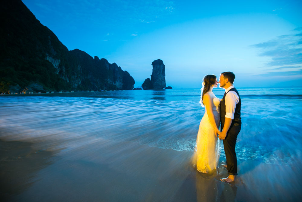 Wedding photos of Mikkel and Merethe's wedding in Centara Grand Resort and Villas Krabi
