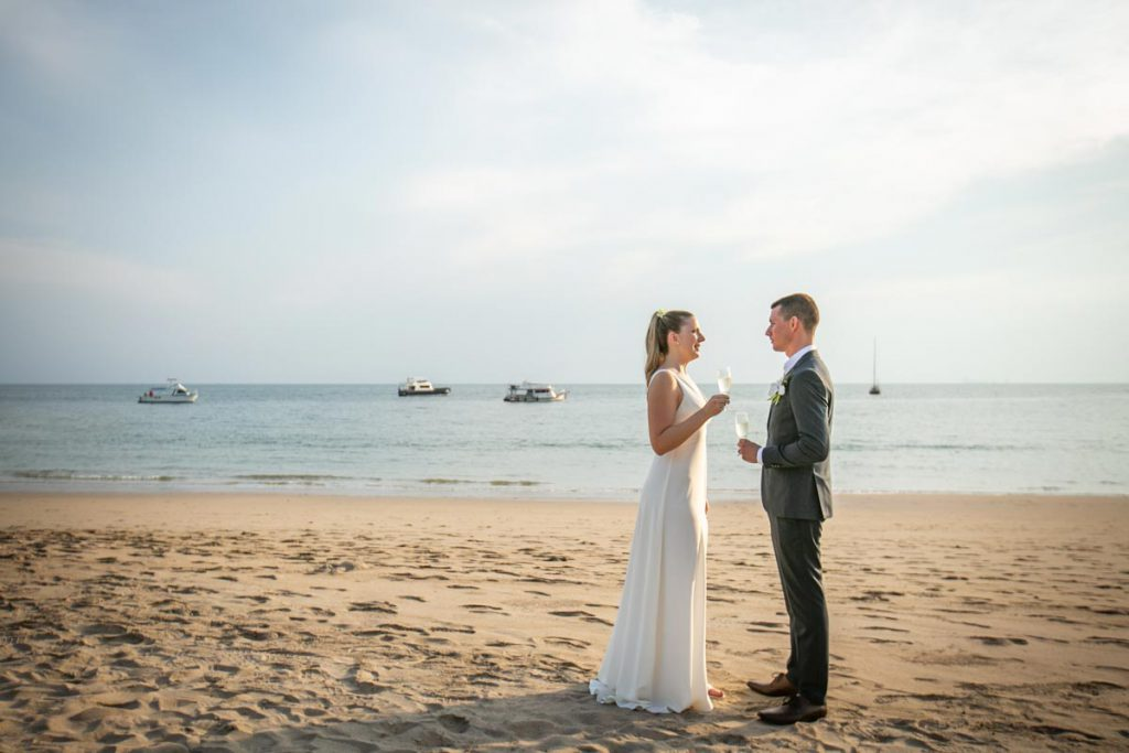 Koh Lanta wedding photographer at Pimalai resort.