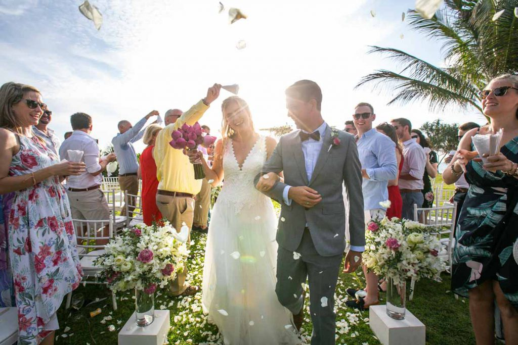 Wedding photography of Cortney with Frorian in Phuket Thailand,