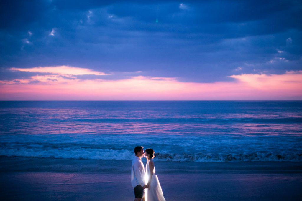 Honeymoon photography of Kei in Phuket Thailand.